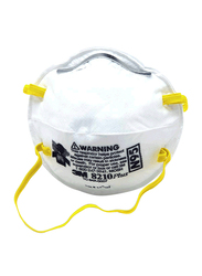 3M 8210 Particulate Respirator N95 Face Mask, 20 Pieces