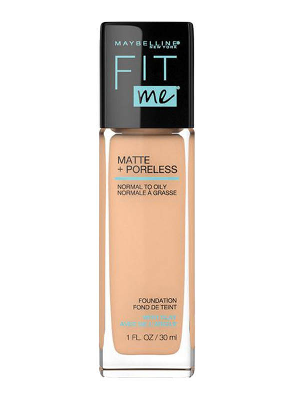 Maybelline Fit Me Liquid Foundation, 30ml, 125 Nude Beige