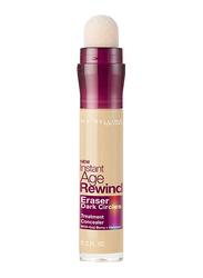 Maybelline New York Instant Age Rewind Eraser Dark Circles Treatment Concealer, 6ml, 150 Neutralizer, Beige