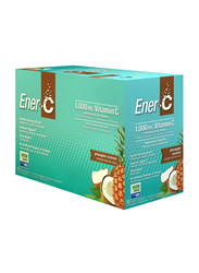 Ener-C Vitamin C Pineapple Coconut Multivitamin Drink Mix, 1,000mg, 30 Sachets, 274.8gm