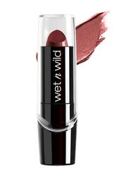 Wet N Wild Silk Finish Lipstick, E536A Dark Wine, Red