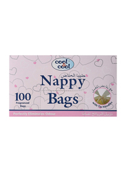 Cool & Cool 100 Sheets Nappy Bags for Baby, N110, 20-Pieces