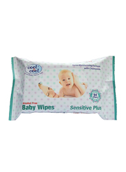 Cool & Cool 64 Sheets Sensitive Plus Wipes for Babies