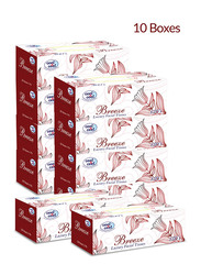 Cool & Cool Breeze Luxury Facial Tissue, 10 Boxes x 150 Sheets x 2 Ply