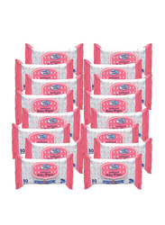 Cool & Cool 16-Pieces Baby Wipes, 80 Wipes
