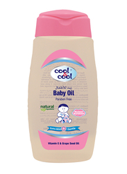 Cool & Cool 250ml Oil for Babies, Pink