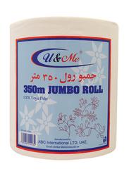 U & Me Jumbo Maxi Roll, 350 Meters
