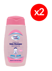 Cool & Cool 2-Pieces Baby Shampoo, 250ml