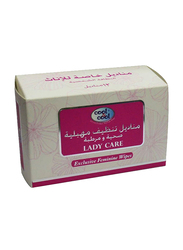 Cool & Cool Lady Care Wipes, 12 Sheets