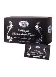 Cool & Cool Abaya Cleansing Wipes, 12 Sheets