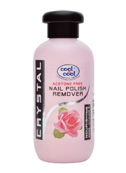 Cool & Cool Rose Nail Polish Remover, 100ml, Clear