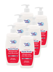 Cool & Cool Disinfectant Anti-Bacterial Hand Wash, 500ml, 6 Pieces