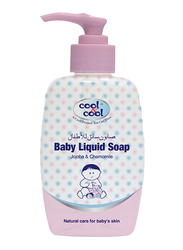 Cool & Cool 250ml Jojoba & Chamomile Liquid Soap for Babies, Pink