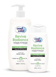 Cool & Cool Revive Radiance Body Lotion Set, 500ml + 250ml, 2-Pieces