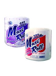 Cool & Cool Maxi Roll Tissue, 2 Rolls x 222 Meters