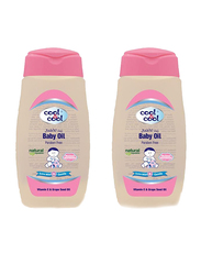 Cool & Cool 250ml Oil for Babies, 2 Pieces, Pink