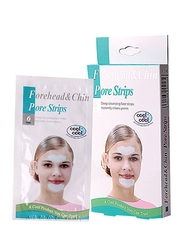 Cool & Cool Forehead & Chin Pore Strips, 6 Strips