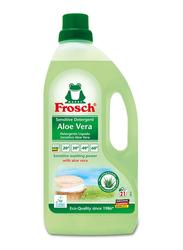 Frosch Color Aloe Vera Sensitive Liquid Detergent, 1.5 Liter