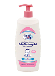 Cool & Cool 500ml Washing Gel for Babies, Pink