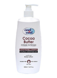 Cool & Cool Cocoa Butter Body Lotion, 500ml