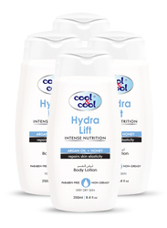 Cool & Cool Hydra Lift Body Lotion Set, 250ml, 4-Pieces