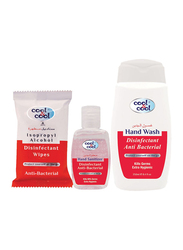 Cool & Cool Disinfectant and Anti-Bacterial Hygiene Box, 3 Pieces