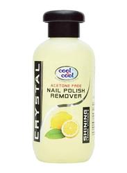Cool & Cool Lemon Nail Polish Remover, 100ml, Clear