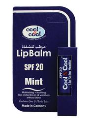Cool & Cool SPF20 Lip Balm, Mint, Blue