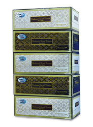 Cool & Cool Emotions Embossed Facial Tissues, 2 Ply x 200 Sheets x 5 Pieces, White