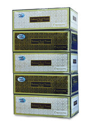 Cool & Cool Emotions Embossed Facial Tissues, 5 Boxes x 150 Sheets x 2 Ply