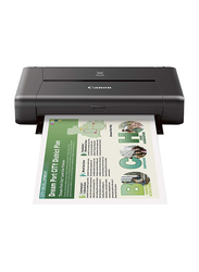 Canon Pixma iP110 All-in-One Inkjet Printer with Battery, Black