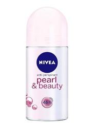 Nivea Pearl & Beauty Deodorant Roll on for Women, 50ml