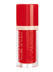 Bourjois Rouge Edition Souffle Velvet Lipstick, 02 Coquelicoh, Red