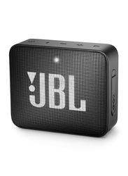 JBL Go 2 IPX7 Water Resistant Portable Bluetooth Speaker, Midnight Black