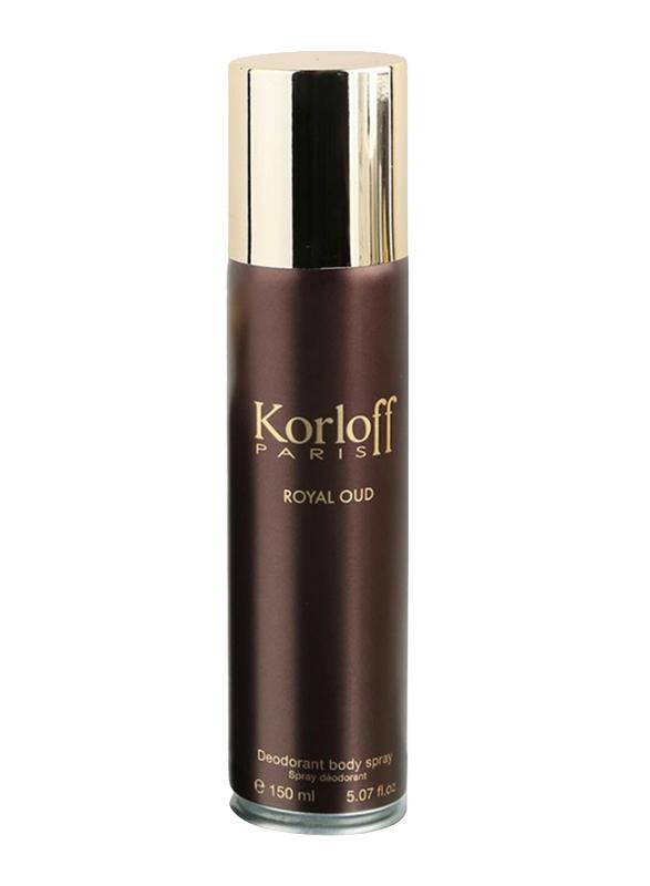 Korloff Paris Royal Oud Deodorant Unisex, 150 ml