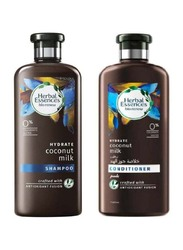 Herbal Essences Bio:Renew Coconut Milk Shampoo and Conditioner Set for All Hair Types, 2 Pieces