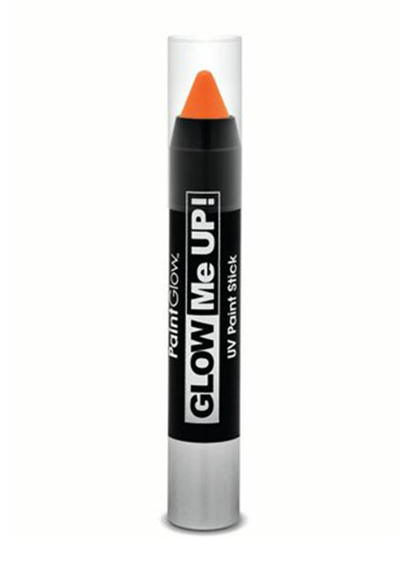 Glow Me Up UV Paint Stick, 3gm, Orange