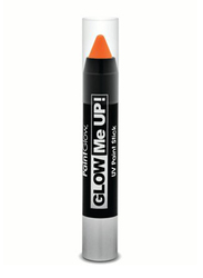 Glow Me Up UV Paint Stick, 3gm, Orange