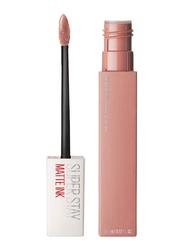 Maybelline New York SuperStay Matte Ink Liquid Lipstick, 5ml, 05 Loyalist, Beige