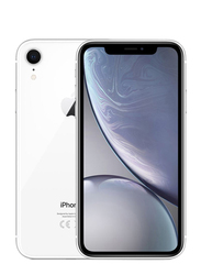 Apple iPhone XR White 64GB, With Facetime, 3GB RAM, 4G LTE, Dual SIM Smartphone