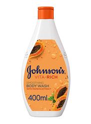 Johnson's Smoothing Vita-Rich Body Wash, 400ml