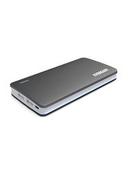 Eveready 10000mAh Power Bank with Micro-USB Input, Black