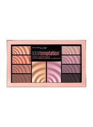 Maybelline New York Total Temptation Highlight Eye Shadow Palette, 0.42oz, Multicolour