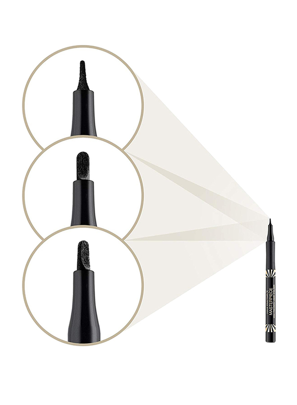 Max Factor Masterpiece High Precision Liquid Eyeliner, 1ml, 05 Black Onyx, Black