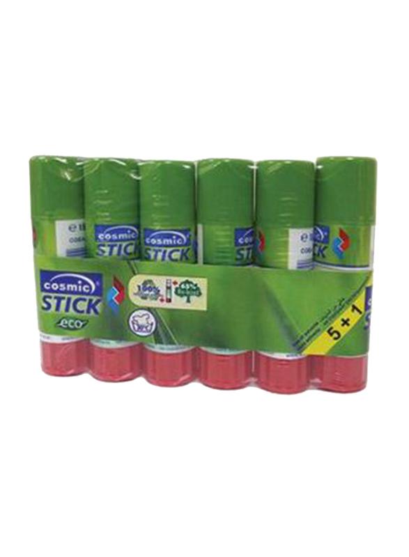 Cosmic Eco Glue Stick, 5 Pieces, 15gm, Green
