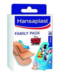 Hansaplast Family Pack Plasters, 40 Strips