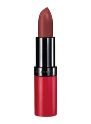 Rimmel London Lasting Finish Matte Lipstick, 4gm, 112 Kate, Brown