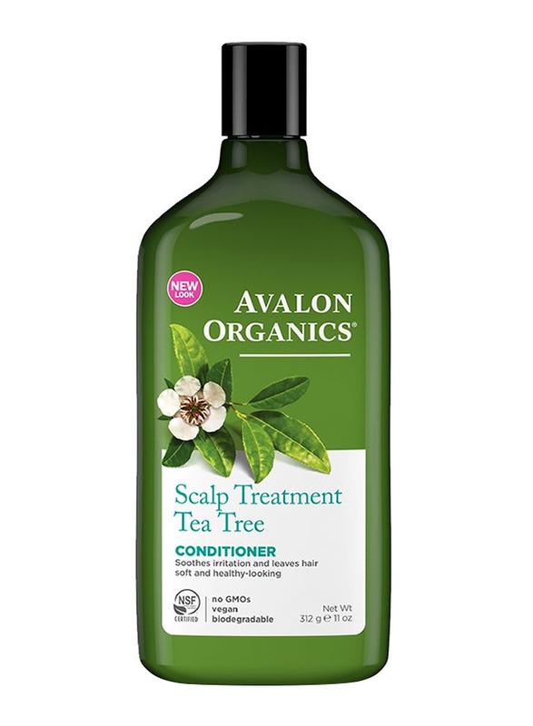 Avalon Organics Scalp Treatment Tea Tree Conditioner for All Hair Types, 312gm