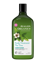 Avalon Organics Scalp Treatment Tea Tree Conditioner for All Hair Types, 312gm