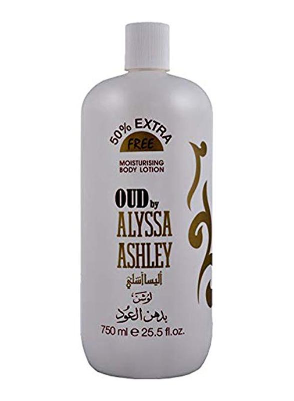 Alyssa Ashley Oud Body Lotion, 750ml